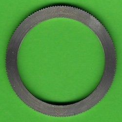 rictools Präzisions-Reduzierring gerändelt sehr stark – 32 mm / 25 mm, Stärke 1,8 mm