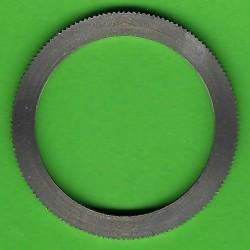 rictools Präzisions-Reduzierring gerändelt extra stark – 32 mm / 25 mm, Stärke 2,0 mm