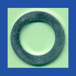 rictools Präzisions-Reduzierring gerändelt sehr stark – 25,4 mm (1'') / 16 mm, Stärke 1,8 mm