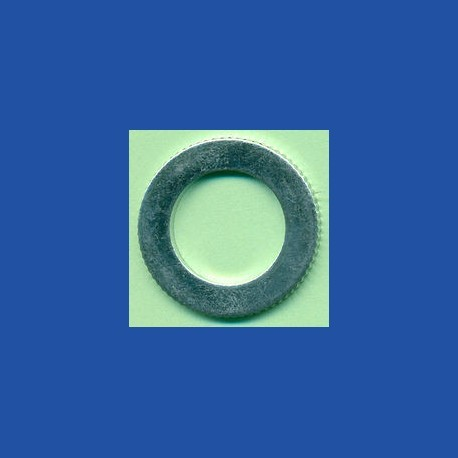 rictools Präzisions-Reduzierring gerändelt dünn – 25,4 mm (1'') / 16 mm, Stärke 1,2 mm