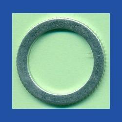 rictools Präzisions-Reduzierring gerändelt dünn – 25,4 mm (1'') / 19 mm (3/4''), Stärke 1,2 mm