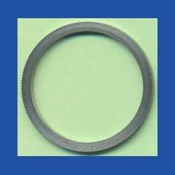 rictools Präzisions-Reduzierring gerändelt dünn – 30 mm / 25,4 mm (1''), Stärke 1,2 mm