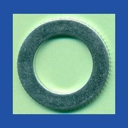 rictools Präzisions-Reduzierring gerändelt sehr dünn – 25 mm / 15,875 mm (5/8''), Stärke 1,0 mm