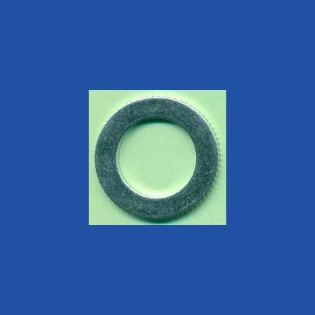rictools Präzisions-Reduzierring gerändelt dünn – 25 mm / 15,875 mm (5/8''), Stärke 1,2 mm