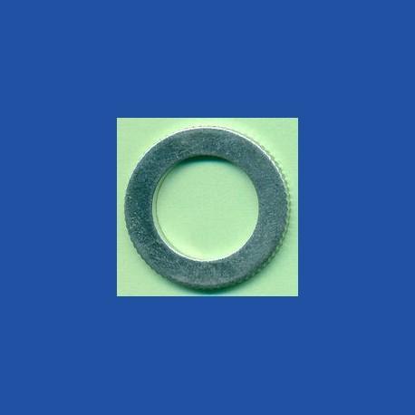 rictools Präzisions-Reduzierring gerändelt dünn – 25 mm / 16 mm, Stärke 1,2 mm