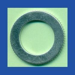 rictools Präzisions-Reduzierring gerändelt sehr dünn – 25 mm / 16 mm, Stärke 1,0 mm