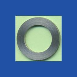 rictools Präzisions-Reduzierring gerändelt dünn – 20 mm / 12,7 mm (1/2''), Stärke 1,2 mm