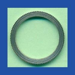 rictools Präzisions-Reduzierring gerändelt dünn – 16 mm / 12,7 mm (1/2''), Stärke 1,2 mm