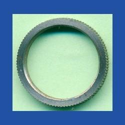 rictools Präzisions-Reduzierring gerändelt sehr dünn – 16 mm / 13 mm, Stärke 1,0 mm