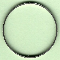 rictools Präzisions-Reduzierring gerändelt dünn – 20 mm / 19 mm (3/4''), Stärke 1,2 mm