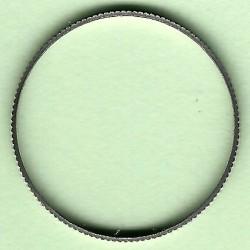 rictools Präzisions-Reduzierring gerändelt stark – 20 mm / 19 mm (3/4''), Stärke 1,6 mm