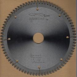 blueline by AKE Kappkreissägeblatt HW Wechselzahn extra fein – Ø 210 mm, Bohrung 30 mm