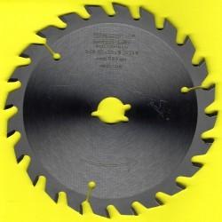 EDN Hartmetallbestücktes Kreissägeblatt Serie 05 gelb Wechselzahn mittel – Ø 150 mm, Bohrung 19 mm (3/4'')