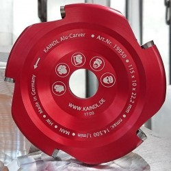 Kaindl Alu-Carver hartmetallbestückter Scheibenfräser für Aluminium – Ø 115 mm