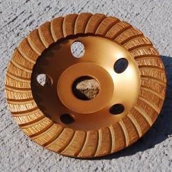 Kaindl Diamant-Schleiftopf Turbosegment – Ø 125 mm für Winkelschleifer