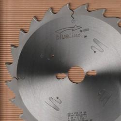 blueline by AKE Kappkreissägeblatt HW Wechselzahn grob – Ø 250 mm, Bohrung 30 mm
