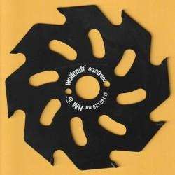 wolfcraft Serie gelb Handkreissägeblatt HM Grobzahn antihaftbeschichtet – Ø 140 mm, Bohrung 20 mm