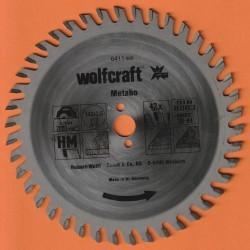 wolfcraft Serie orange Handkreissägeblatt HM Viel-Wechselzahn – Ø 142 mm, Bohrung 13 mm