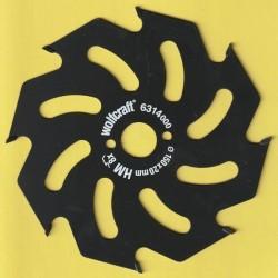 wolfcraft Serie gelb Handkreissägeblatt HM Grobzahn antihaftbeschichtet – Ø 150 mm, Bohrung 20 mm