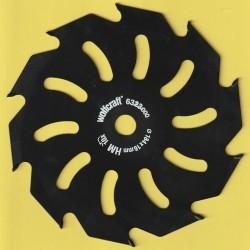 wolfcraft Serie gelb Handkreissägeblatt HM Grobzahn antihaftbeschichtet – Ø 184 mm, Bohrung 16 mm