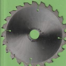 wolfcraft Serie grün Kapp- und Gehrungssägeblatt HM Wechselzahn negativ – Ø 210 mm, Bohrung 30 mm