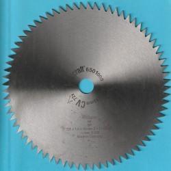 wolfcraft Serie blau Kapp- und Gehrungssägeblatt CV fein – Ø 205 mm, Bohrung 18 mm