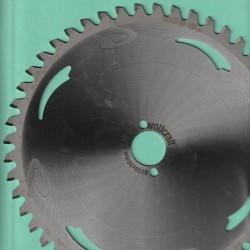 wolfcraft WIZARD Serie silber Kapp- und Gehrungssägeblatt HM Flach-Hohlzahn negativ – Ø 250 mm, Bohrung 30 mm