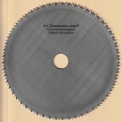 H.O. Schumacher+Sohn Kreissägeblatt Chrom-Vanadium C Feinstzahn – Ø 200 mm, Bohrung 25 mm