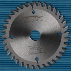 blueline by AKE Handkreissägeblatt HW Wechselzahn sehr fein – Ø 130 mm, Bohrung 20 mm