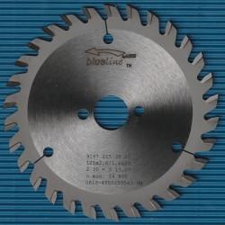 blueline by AKE Handkreissägeblatt HW Wechselzahn sehr fein – Ø 125 mm, Bohrung 20 mm