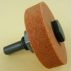 rictools Edelkorund-Schleifstein Mini – mit Adapter für die Bohrmaschine