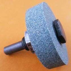 rictools Siliciumcarbid-Schleifstein Mini – mit Adapter für die Bohrmaschine