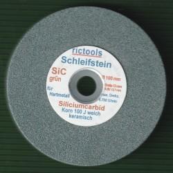 rictools Siliciumcarbid-Schleifstein – mit Adapter für die Bohrmaschine