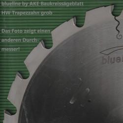 blueline by AKE Baukreissägeblatt HW Trapezzahn grob – Ø 250 mm, Bohrung 30 mm