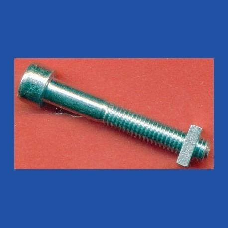 Kaindl Innensechskant-Schraube 40 mm lang für Bohrmaschinen-Aufnahme – mit Vierkantmutter