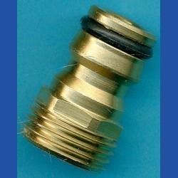 rictools Rohrfrei Adapter für Schlauch-Stecksystem – Messing