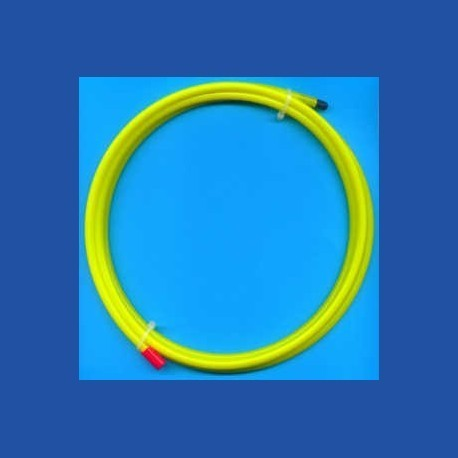 Kaindl Schlauch gelb mit Düse Ø 6 mm