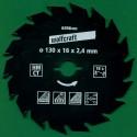 Kreissägeblätter Ø 130 mm, Bohrung 16 mm