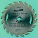 Kreissägeblätter Ø 140 mm, Bohrung 12,7 mm (1/2'')