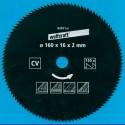Kreissägeblätter Ø 160 mm, Bohrung 16 mm