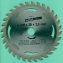 Kreissägeblätter Ø 200 mm, Bohrung 25 mm