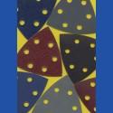 Delta-Schleifscheiben 93 mm 6-fach gelocht im Kreis