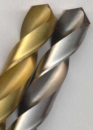 rictools Stahlbohrer HSS-G mit und ohne Titannitrid-Beschichtung