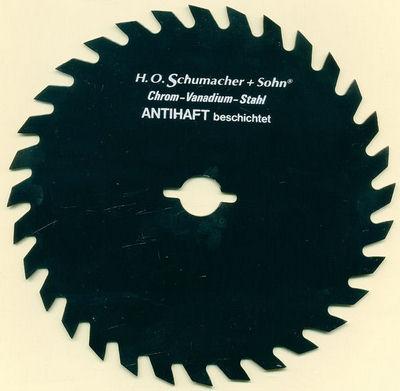 H.O. Schumacher+Sohn Kreissägeblatt Chrom-Vanadium A Grobzahn