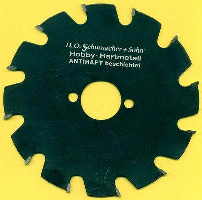 H.O. Schumacher+Sohn Hartmetallbestücktes Kreissägeblatt Hobby Grobzahn