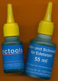 rictools Bohr- und Schneidöl für Edelstahl