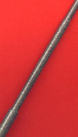 Die drei verschiedenen Durchmesser der Kaindl Diamant-Rundfeile 3 in 1