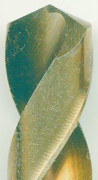 rictools Edelstahlbohrer HSS-G-Co Ø 13 mm mit Kreuzanschliff