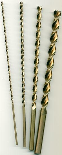 extra lange Ausführung (250 mm) Ø 3 - 12 mm