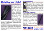 Metallbohrer HSS-R